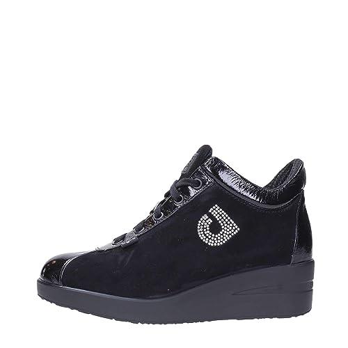 Rucoline Agile 226 Zapatillas de cuña Mujer Negro 38: Amazon.es: Zapatos y complementos