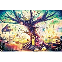 Searchyou 1000 Piece Jigsaw Puzzle for Adults and Kids - Glow in the Dark Jigsaw Puzzle - Tree