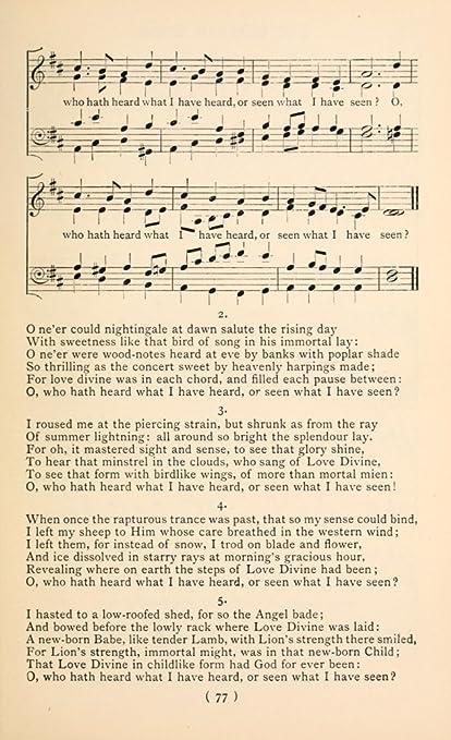 Amazon Story Of The Shepherd 2 Christmas Carols New Old 1850