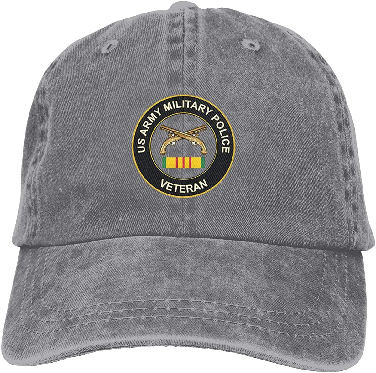 ORYISGAD Army Military Police Vietnam Veteran Sports Cap for Mens and Womens