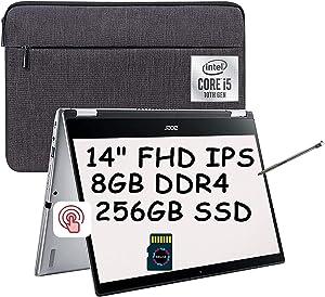 2021 Acer Spin 3 2 in 1 Premium Laptop I 14
