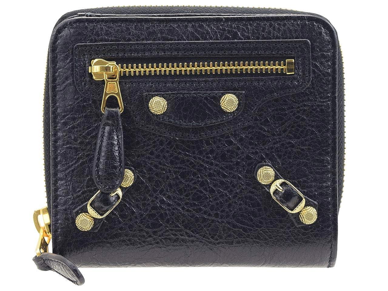 [バレンシアガ] BALENCIAGA 財布 折財布 二つ折り アウトレット 319158 [並行輸入品] B07Q716YNB