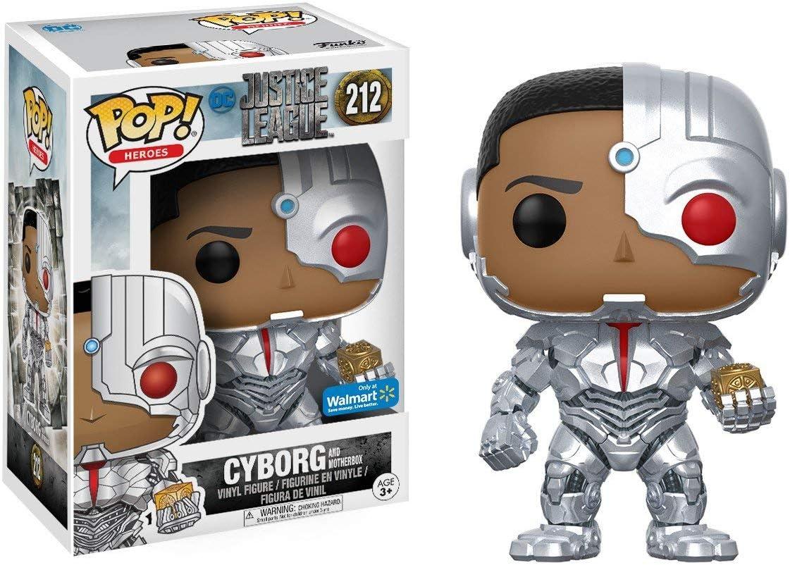 Figura Cyborg Exclusive 212 Funko POP. Vinyl Justice League: Amazon.es: Juguetes y juegos