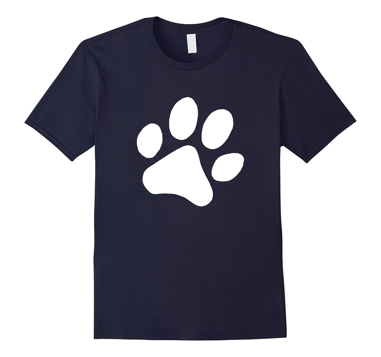 Dog Paw Print T Shirt Dog Owner Lover Gift for Men Women Kid-Art