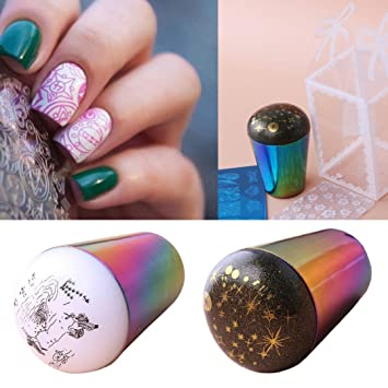 Amazon Womens Nail Stamper Iuhan Starry Sky Nail Art Stamp