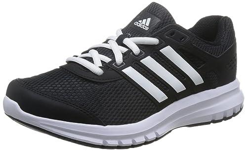 timeless design 9b81a 7be40 Adidas Tenis para Correr Textil Negro con Blanco BA8107 22