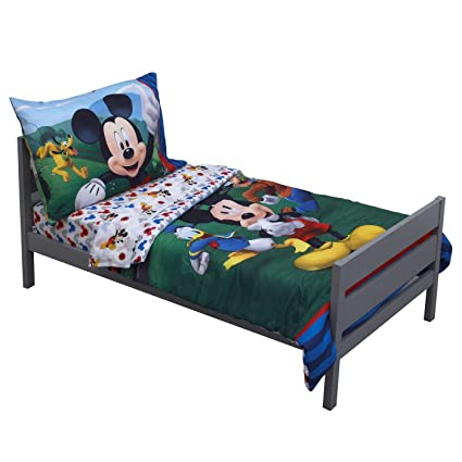 disney mickey mouse bedding set toddler - Mickey Mouse Bedding