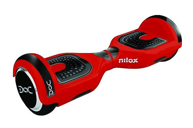 Nilox Patinete Electrico, Unisex Adulto, Rojo / Negro, 25.7 ...
