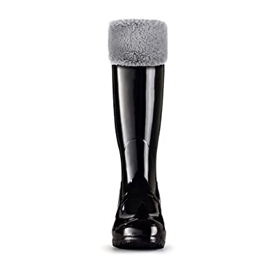 discount coupon half off top-rated official Thermal Fleece Welly Wellington Boots Socks for Hunter Tall Rain Boots
