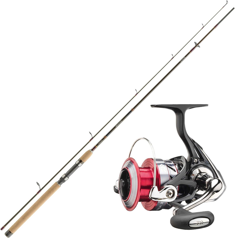Trucha Daiwa – Set Combo – Caña de pescar y carrete Set – Pesca No ...