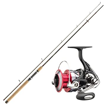 Shimano Angelrute /& Angelrolle Set Angeln NO.3 Forellen Angelset Combo