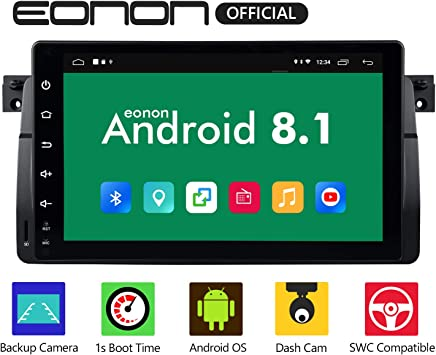 eonon Android 8.1 fit BMW E46 320 325 1999 2000 2001 2002 2003 ...