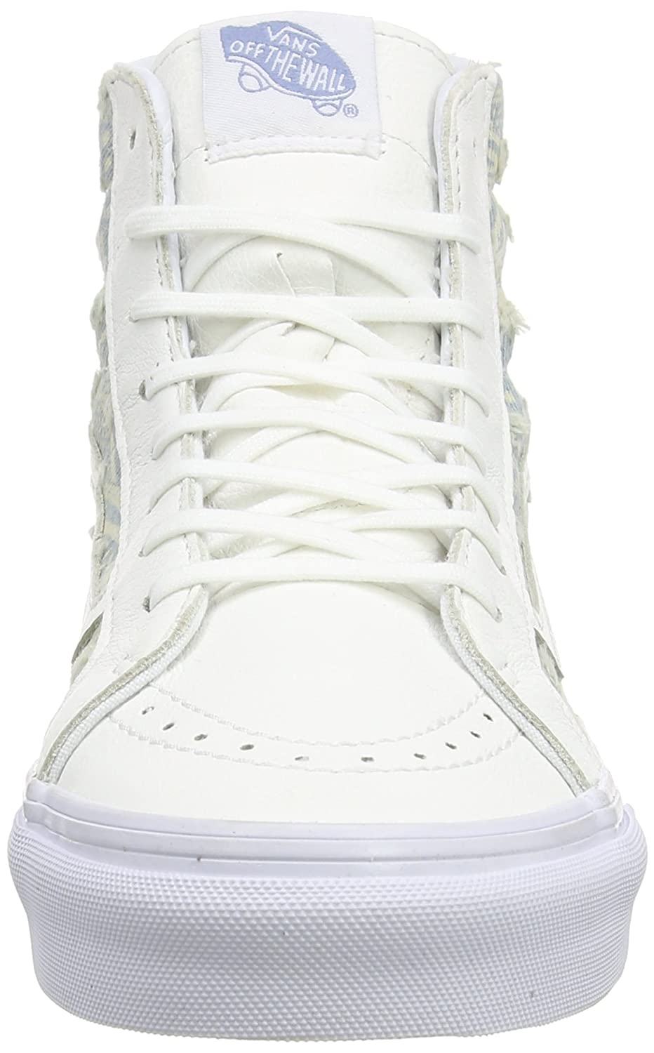 Vans Unisex Sk8-Hi Slim Women's Skate Shoe B017JONRYK 6.5 M US Women / 5 M US Men|True White