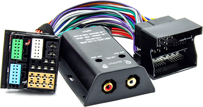 High Low Adapter Converter Quadlock Für Audi Seat Skoda Elektronik