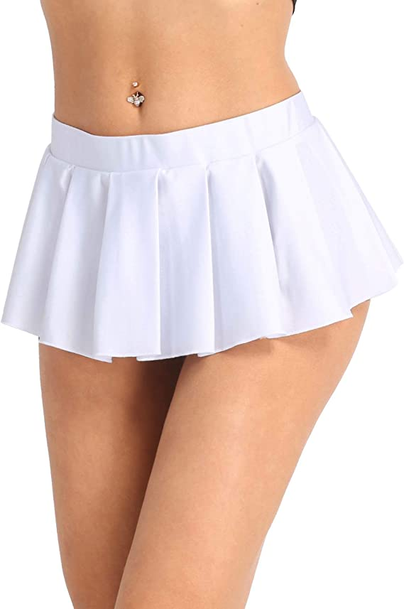 Inlzdz Femme Mini Jupe Plissee Sexy Jupe Courte Uniforme Scolaire Deguisement Etudiante Japonais Jupette Fille Mini Jupe Evasee Jupe De Nuit M Xxl Amazon Fr Vetements Et Accessoires