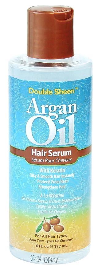 Double Sheen Argan Oil Hair Serum by Double Sheen