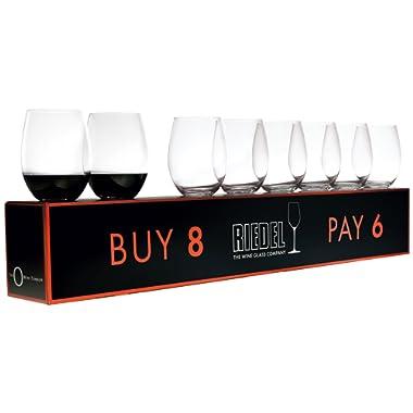 O  Cabernet / Merlot Red Wine Set (Box of 8)