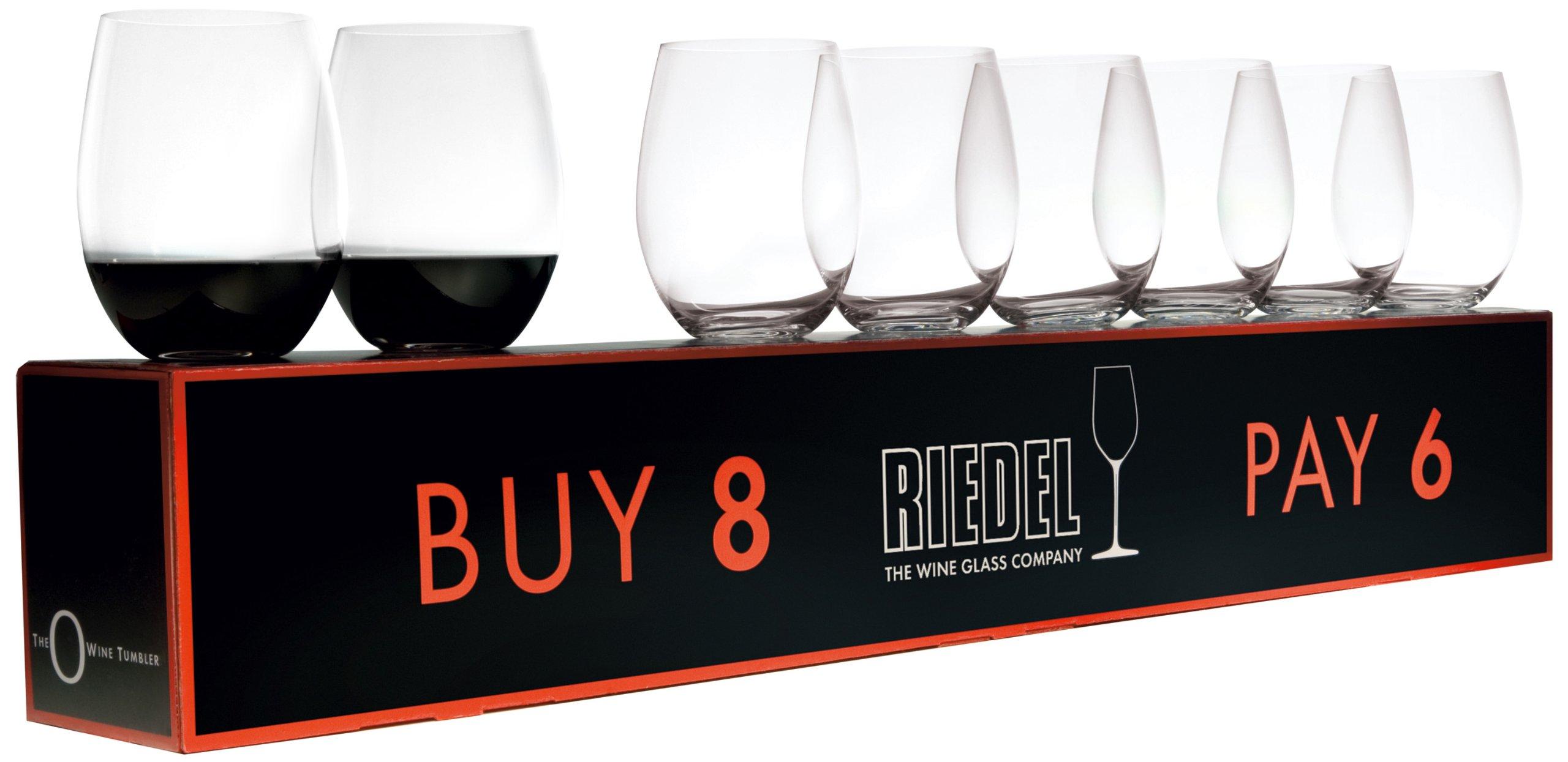 ''O'' Cabernet / Merlot Red Wine Set (Box of 8)