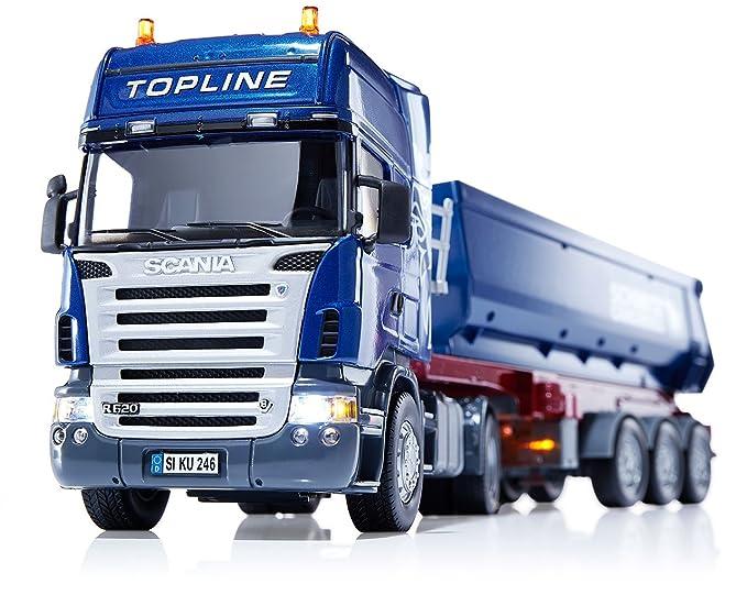 SIKU 6725 - Descarga de camiones Scania Set con módulo de control remoto (colores surtidos): Amazon.es: Juguetes y juegos