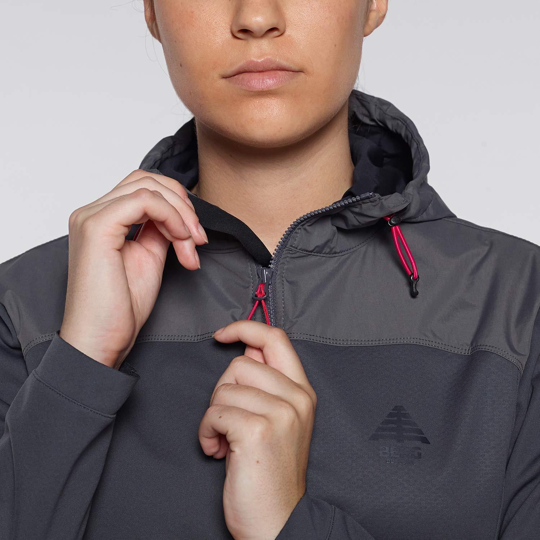 Mujer Berg Outdoor Agueira Hybrid Jacket