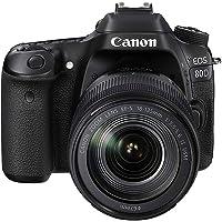 Canon EOS 80D 18-135Mm Fotoğraf Makinesi, Full Hd (1080P), Siyah, 2 Yıl Canon Eurasia Garantili