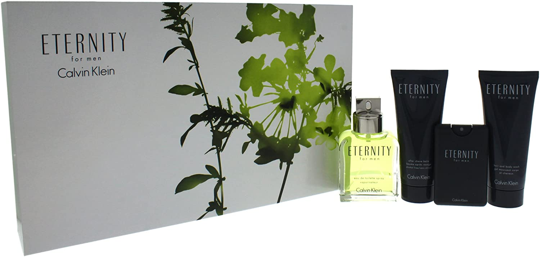 Calvin Klein Eternity For Men Eau de Toilette Vapo + After Shave Balm + Body Wash + Eau de Toilette 320 ml: Amazon.es: Belleza