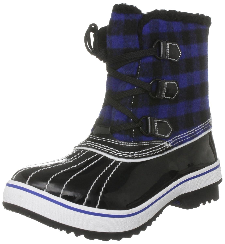 Skechers Highlanders Ice Pack, Damen Stiefel  36 EU Schwarz/Blau/Schwarz