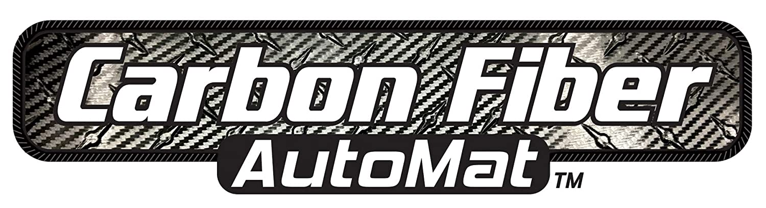 Intro-Tech NS-703-CF Small Cargo Area Custom Fit Floor Mat for Select Nissan Armada Models w//3rd Row Up Simulated Carbon Fiber