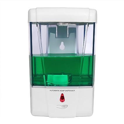 LemonBest® 600ml Montaje en Pared Dispensador Automático de Jabón Sensor IR Bomba de Loción de