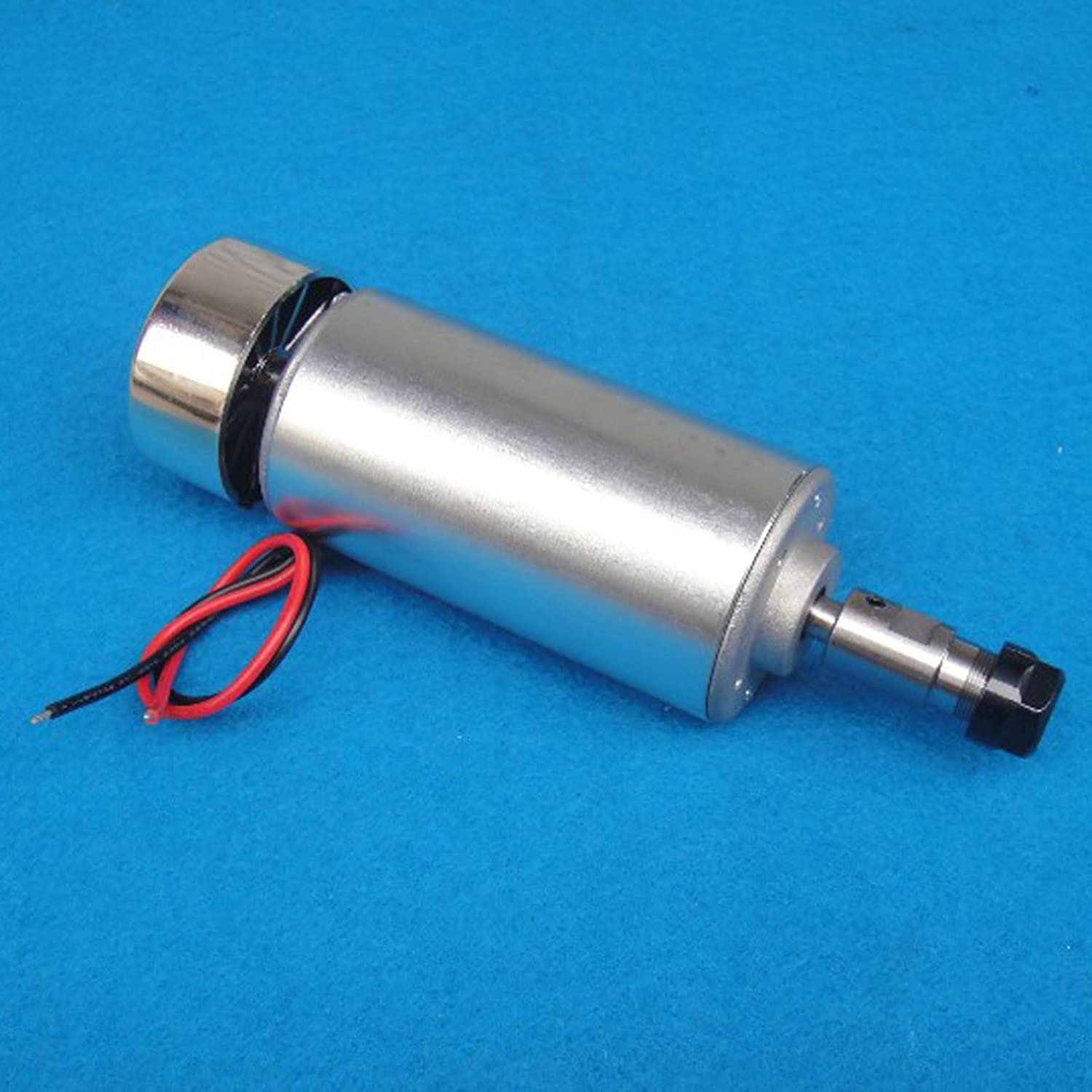 Linaatales 400W NEW 400W Air Cooled Spindle Motor Engraving Milling DC 12V-48V 12000rpm 3.175mmAir Cooled Spindle Motor Engraving Milling DC 12V-48V 12000rpm 3.175mm 400W High Speed Air Cooled Spindle Motor Engraving Milling DC 12V-48V 12000rpm CNC0015
