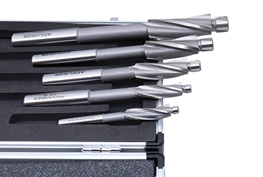 with 7 Pc Metric Hss Solid Capscrew Counterbore Set