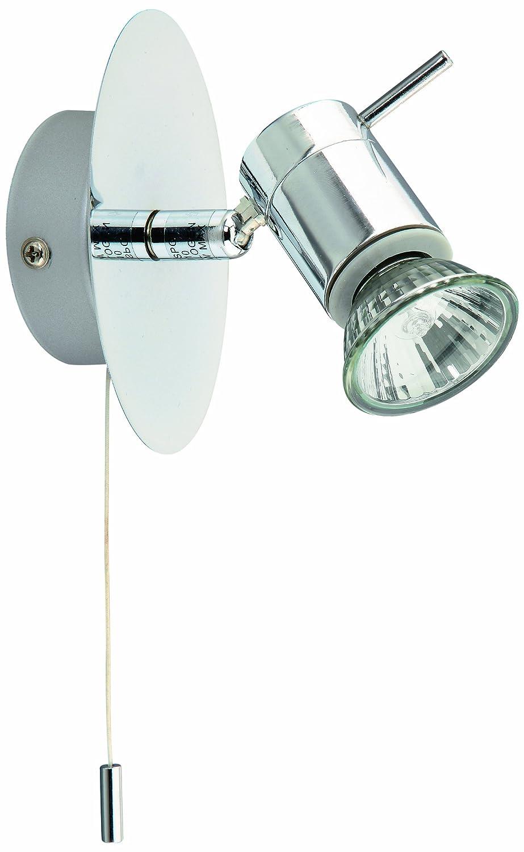 Briloner Leuchten Bad-Wandleuchte, Wandlampe, Wandstrahler, 1 x GU10 ...