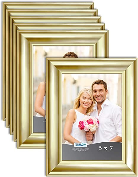 Painting Wedding Bridal Photography Table Number Frame Gold 5x7 Photo Frame Table Top Prints