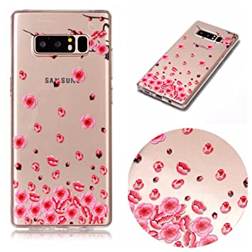 Funda Galaxy Note 8 , Cover Note 8 Funda Silicona, SpiritSun ...