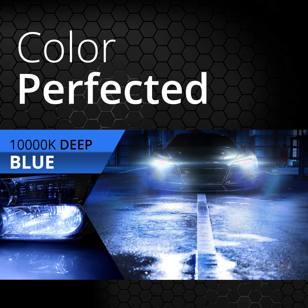6000K Lightning Blue Xenon Light 6X Longer Life All Bulb Sizes and Colors 2 Yr Warranty OPT7 Boltzen AC CANbus H7 HID Kit 5X Brighter