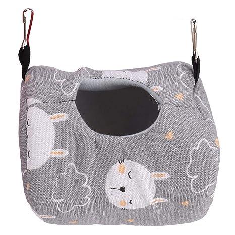 Hamster Hamaca, Casa Colgante Lona para Dormir Fresca Lona para el ...