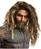 Rubie's Costume Co. Men's Justice League Aquaman Beard and Wig