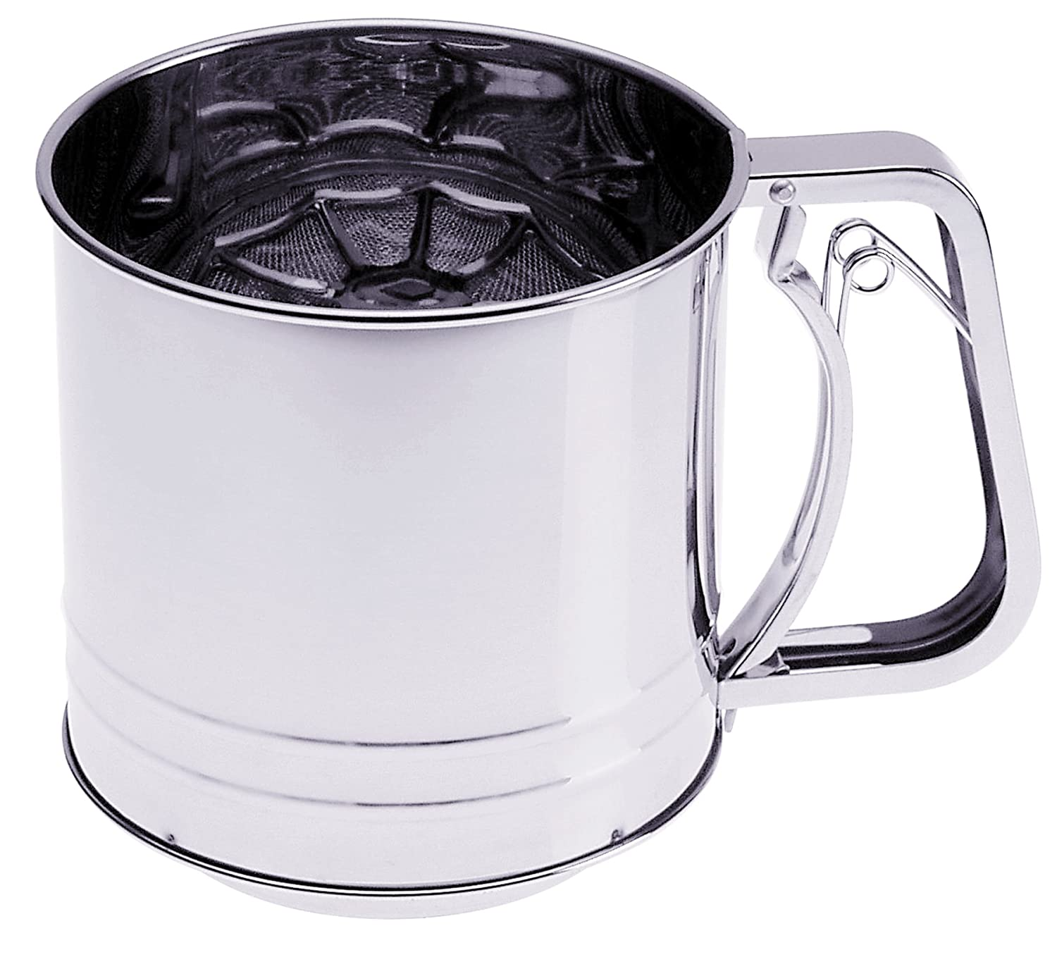 Prepworks from Progressive International GFS-5 Triple-Screen Stainless-Steel Flour Sifter, 5 Cup GFS5