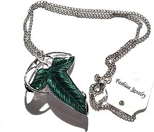 ChAmBer37 Woodroffe Pin broche con forma de hojas de hiedra de collar y