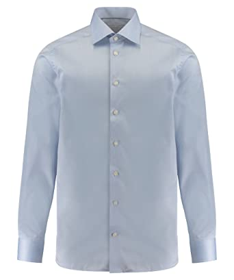 c5449bb1188f Eton Mens Contemporary Fit Signature Twill Shirt at Amazon Men s ...