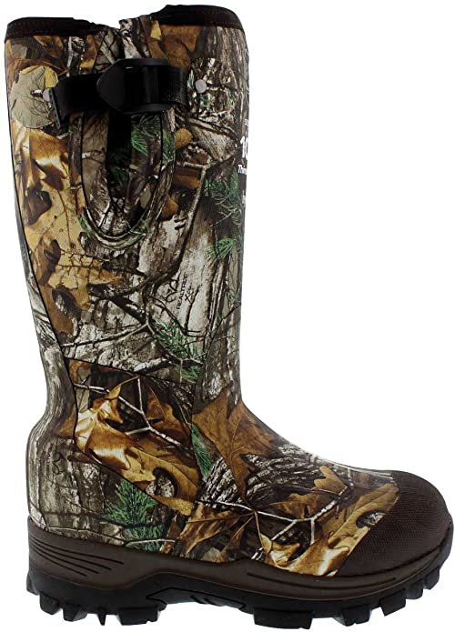 Field & Stream Swamptracker Realtree 1000g Rubber Xtra Waterproof Hunting Boots For Women