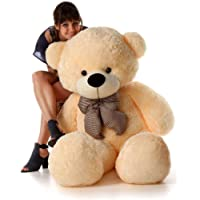Buttercup Soft Toys Extra Large Very Soft Lovable/Huggable Teddy Bear for Girlfriend/Birthday Gift/Boy/Girl - 3 Feet (91 cm, Cream)