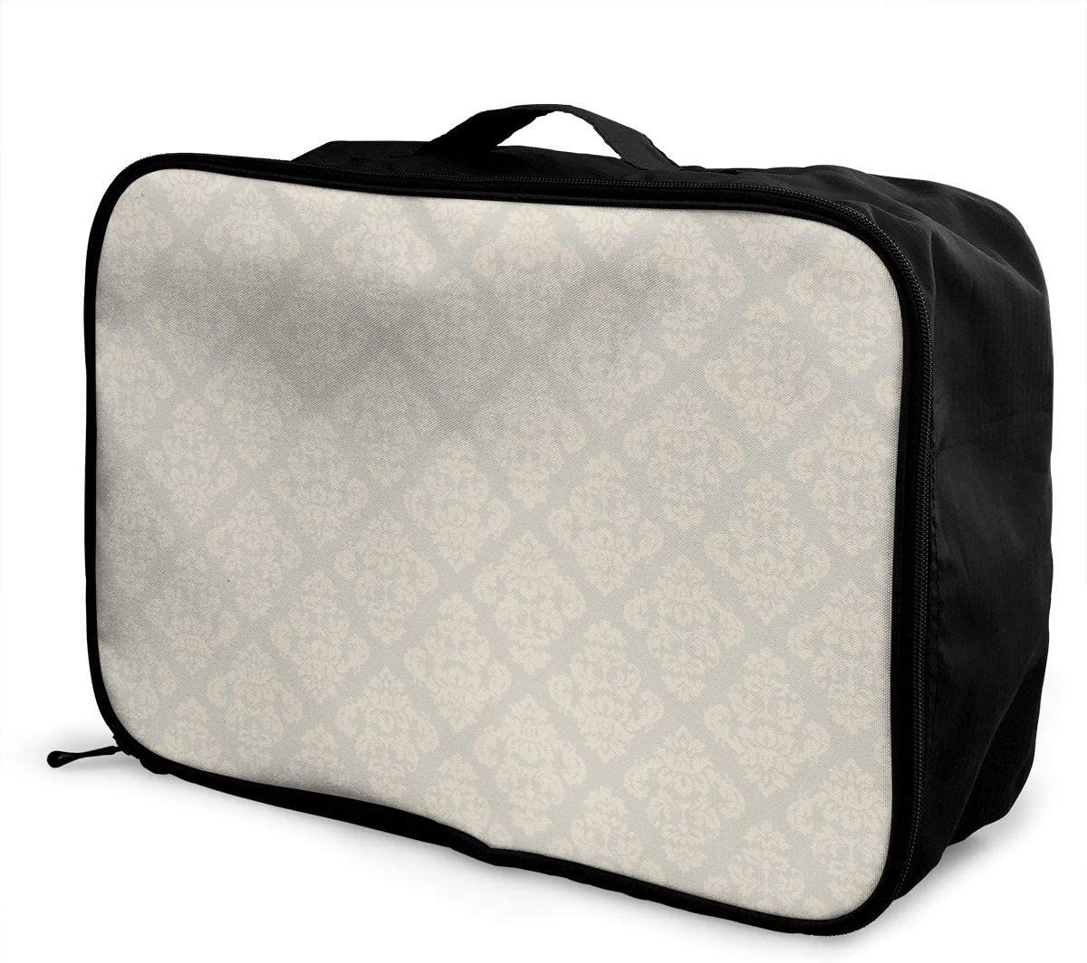 Petoskey Stone Travel Carry-on Luggage Weekender Bag Overnight Tote Flight Duffel In Trolley Handle