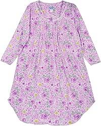 Lati Fashion Women s Cotton Long Sleeve Sleep Dress d19495320