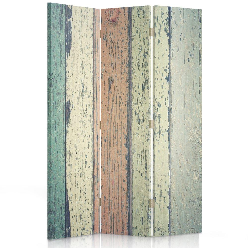 Feeby Frames - Paravent Intérieur - Paravent toile - Paravent déco - Cloison de séparation - Paravent 1 face - 3 panneaux