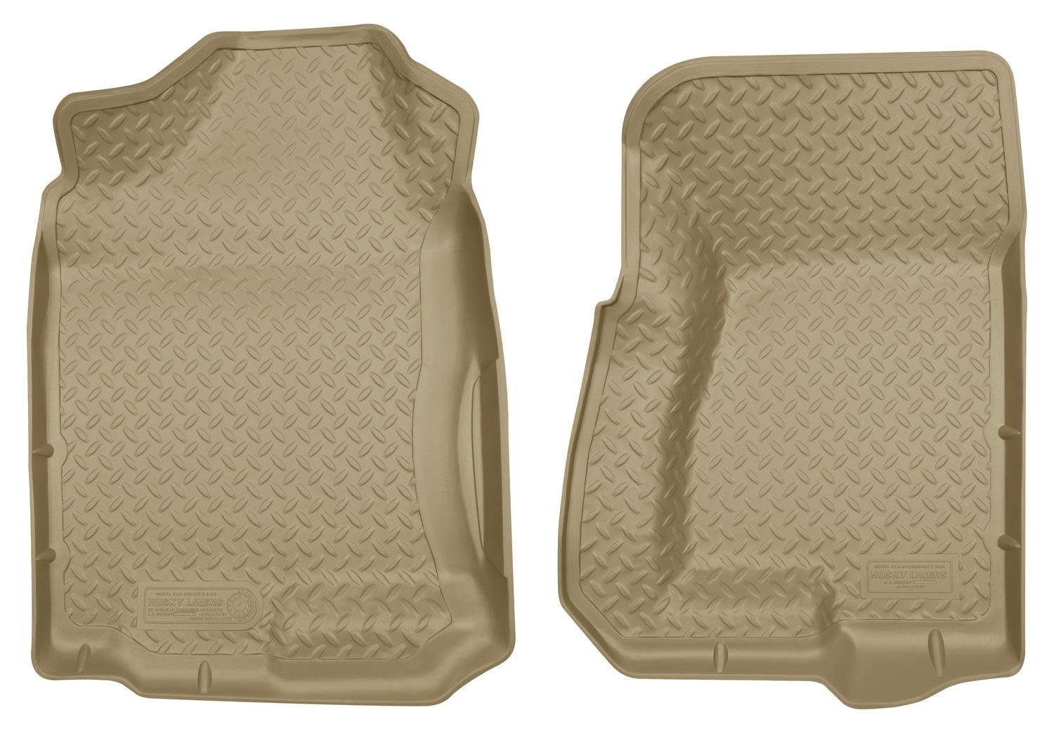 Husky Liners Front Floor Liners Fits 99-07 Silverado//Sierra 1500 Extended Cab