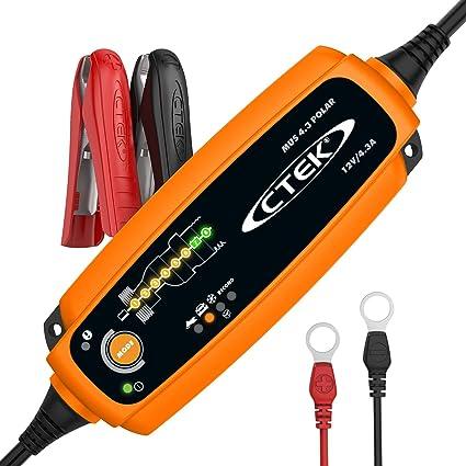 CTEK MXS 5.0 Polar Cargador de batería: Amazon.es: Coche y moto