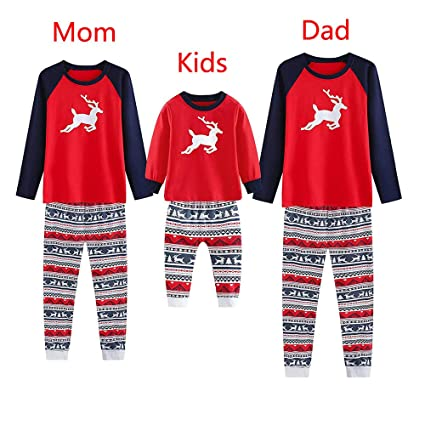 1bb0a9d85e Amazon.com   Iusun Family Pajamas Matching Sets