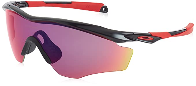 5c70f5300a Image Unavailable. Image not available for. Colour  Oakley Sunglasses M2 XL  OO9343-08 Polished Black Prizm Road