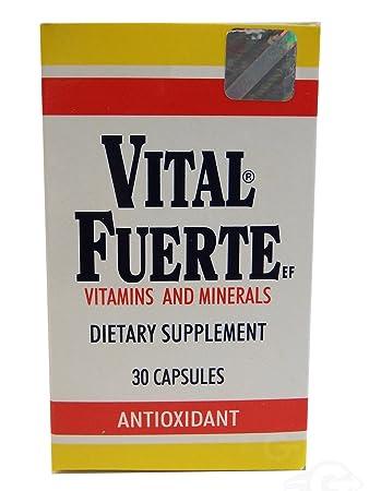 Vital Fuerte Vitamins Capsules 30.0 CT